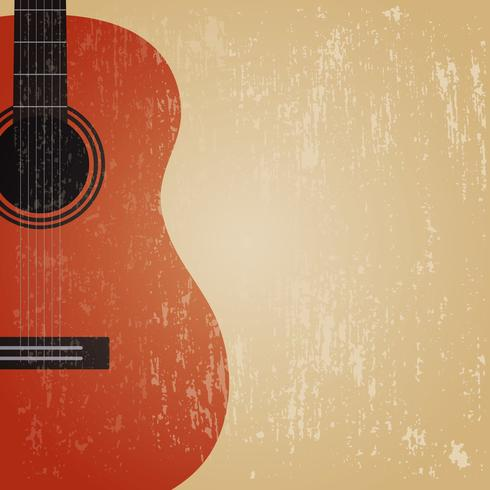 chitarra classica grunge