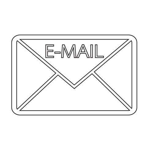 icona simbolo e-mail