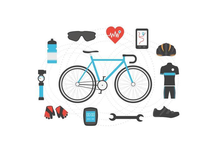 cykel tillbehör ikon