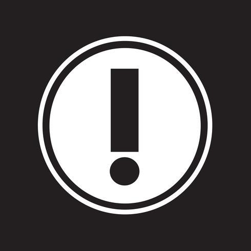 Avviso simbolo icona segno
