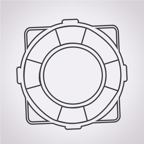 livboj ikon symbol tecken
