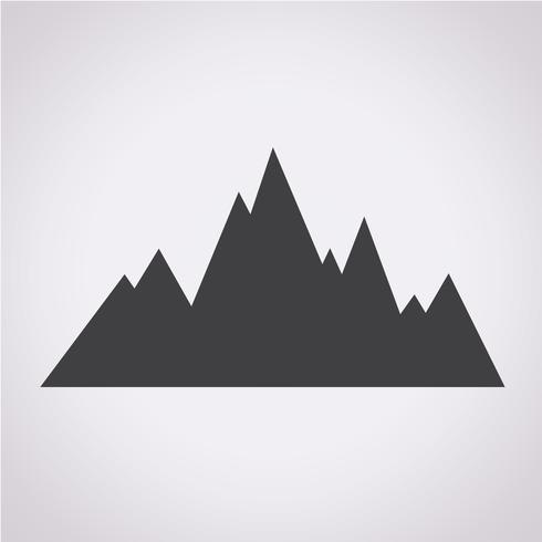 montagne simbolo icona segno