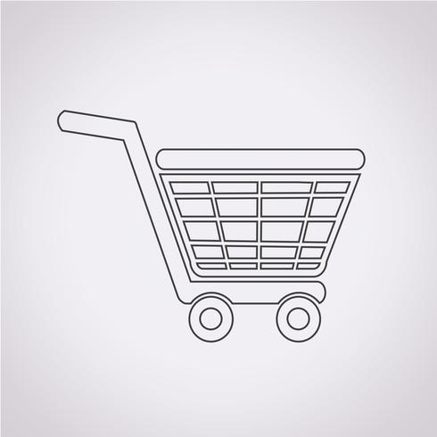 Icono de compra símbolo de signo