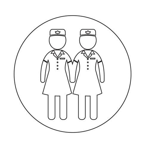 Air Hostess ícone