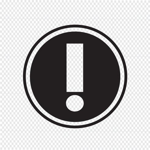 Waarschuwingspictogram symbool teken