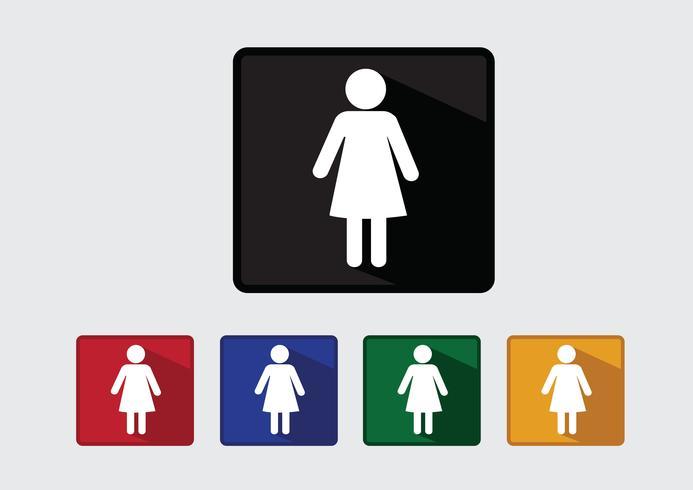 Pittogramma Icone di persone per applicazioni mobili web e segni di persone