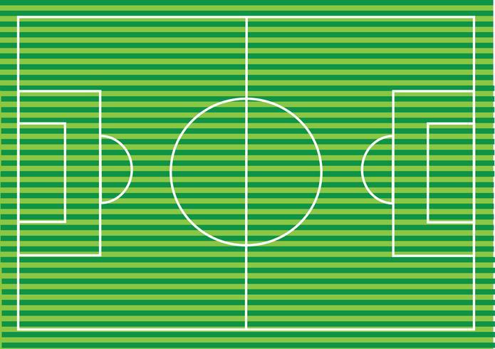 Soccer field or Football textured grass field vector