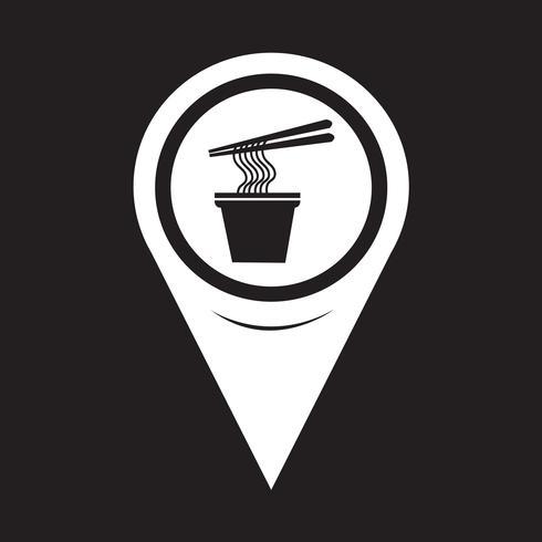 karta pekaren nudlar ikon