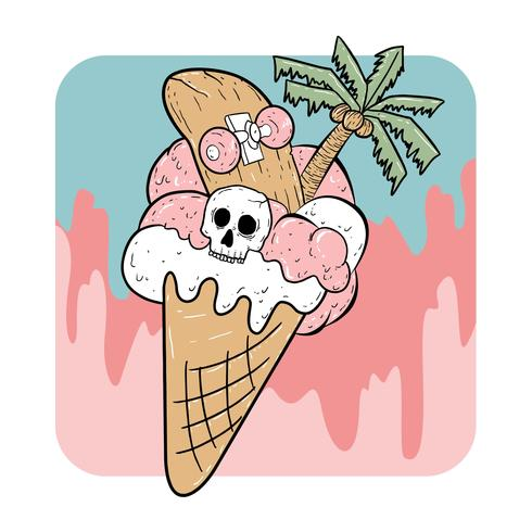 summer ice cream halloween