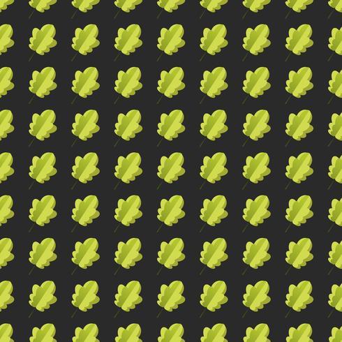 Naadloos patroon met kleurrijke de herfstbladeren.