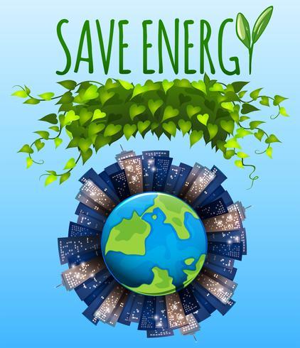 Salva l'icona di energia