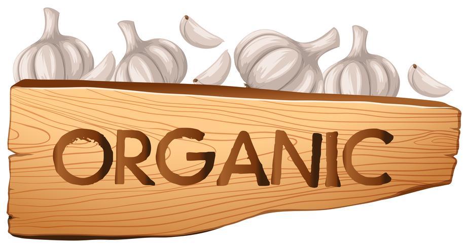 Signe organique et ail