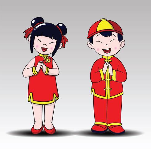 Glückliche Chinesische Glückliche Jungen Und