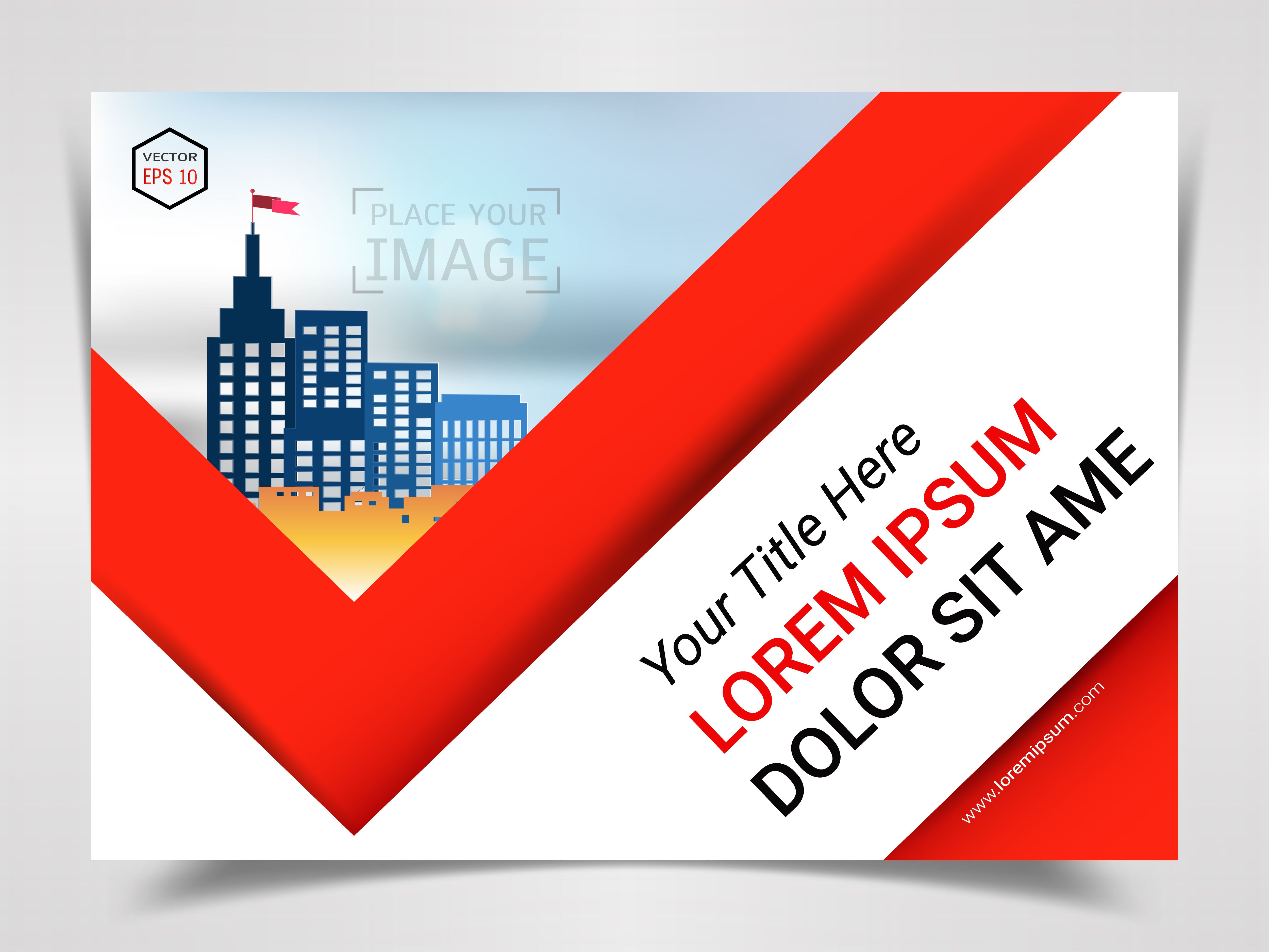 Print Advertising Ready Template, A4 Size Design for ...