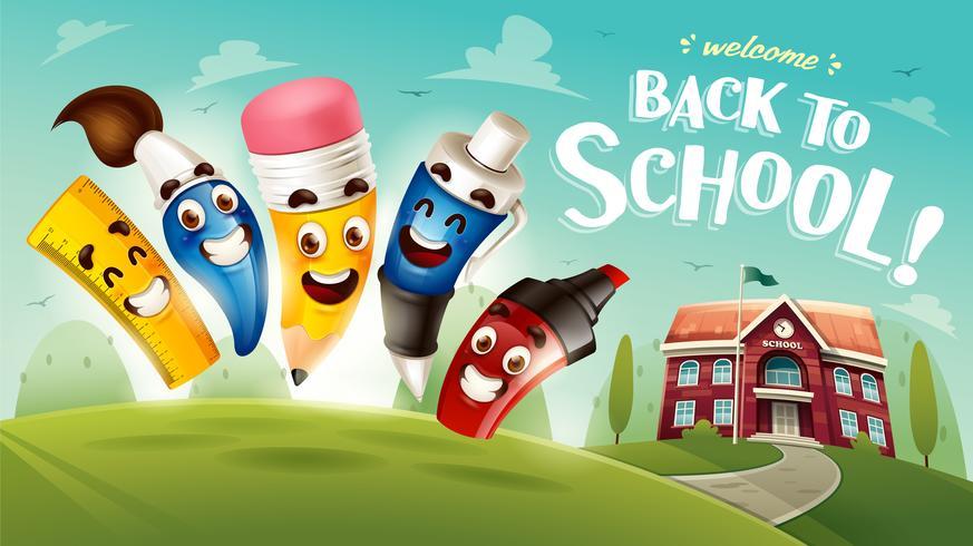 Back to School. vector