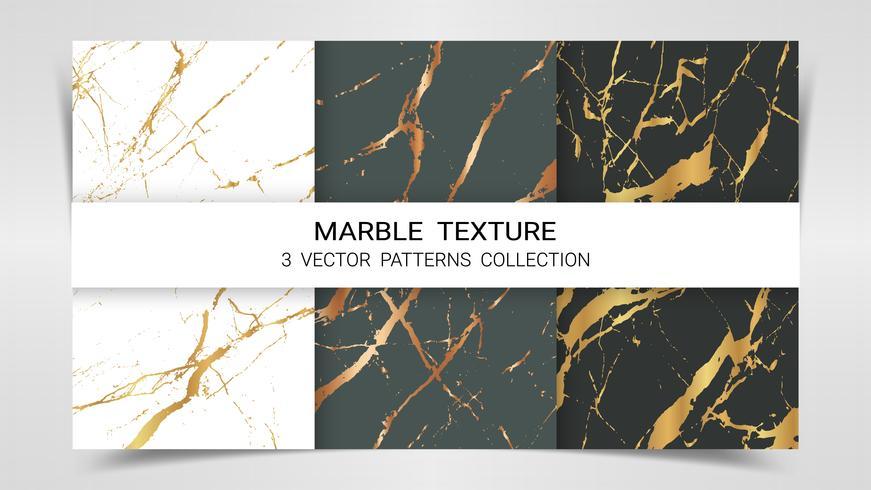 Texture marbre, ensemble Premium de la collection de modèles de vecteur.
