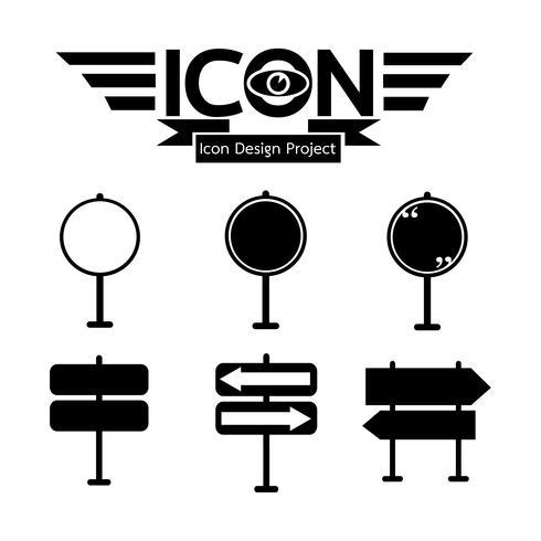 wegwijzer pictogram symbool teken