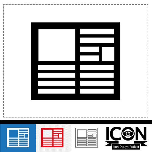 news icon  symbol sign