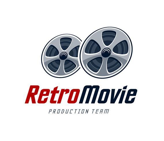 Logo Retro Película