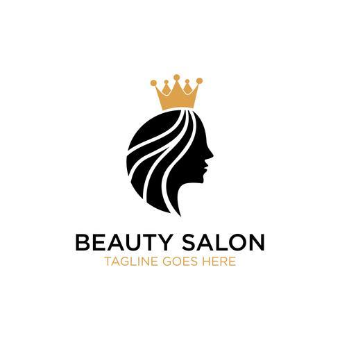 Salão De Beleza Inspiração De Design De Logotipo vetor