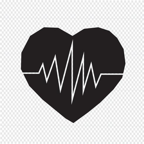 hartslag pictogram symbool teken