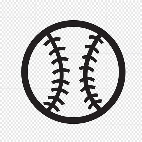 baseball icon  symbol sign vector