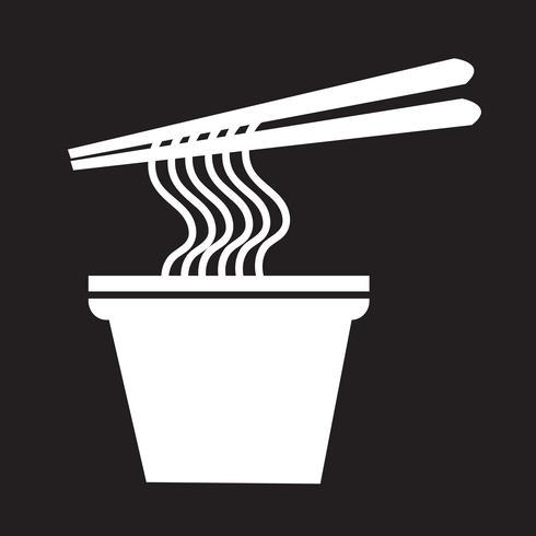 Nudeln Symbol Symbol Zeichen