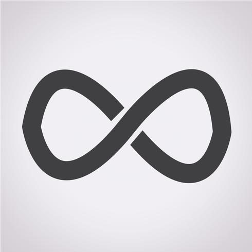 símbolo de infinito símbolo de signo