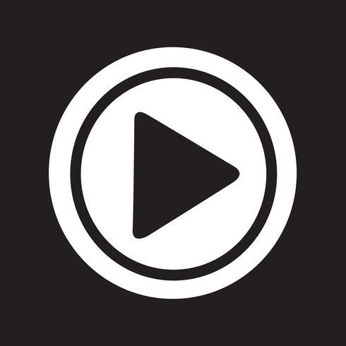 Play icon  symbol sign