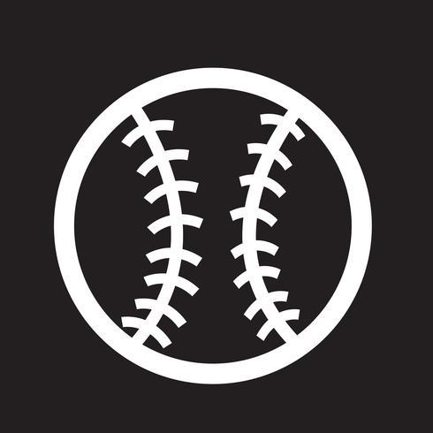 Baseball-Symbol Symbol Zeichen