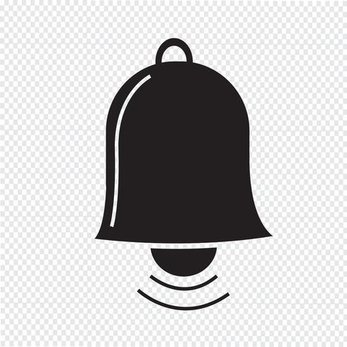 icono de campana símbolo signo vector