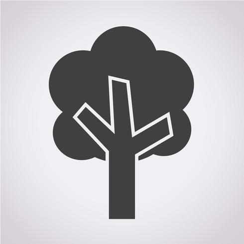 Segno simbolo icona albero
