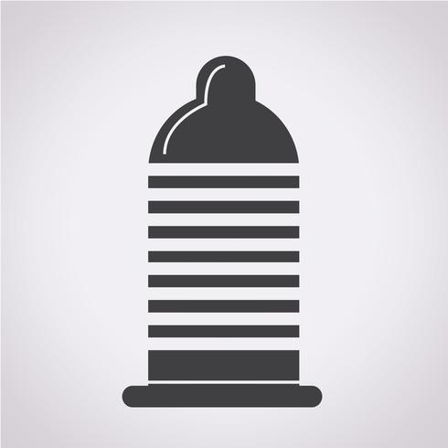 préservatif icône symbole signe vecteur