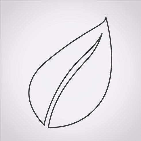 Folha, símbolo, sinal símbolo