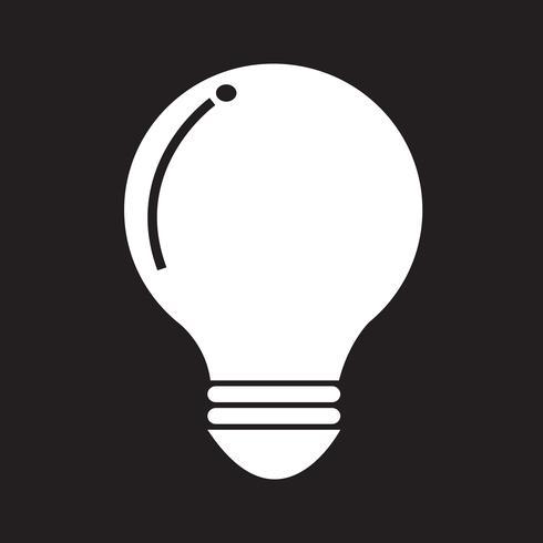 segno simbolo icona lampadina