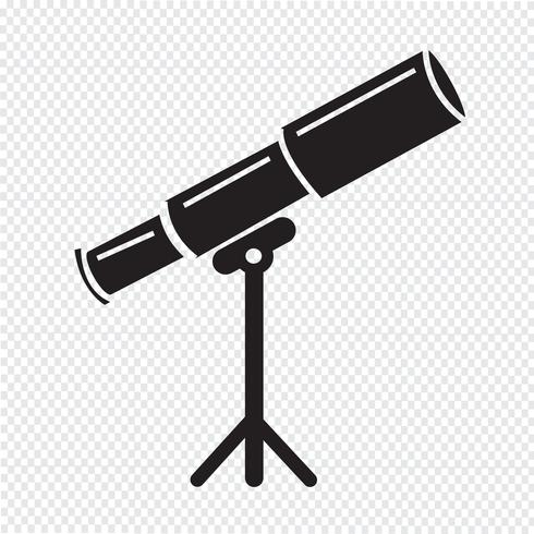 telescope icon symbol sign download free vectors clipart graphics vector art telescope icon symbol sign download
