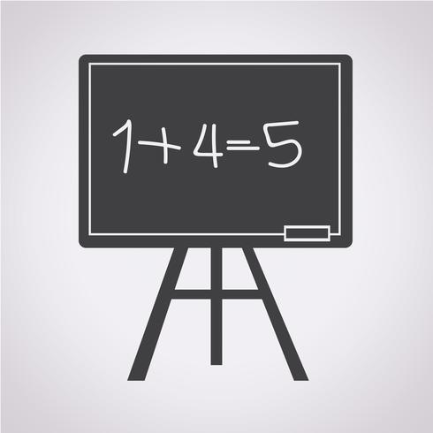 Blackboard icon  symbol sign