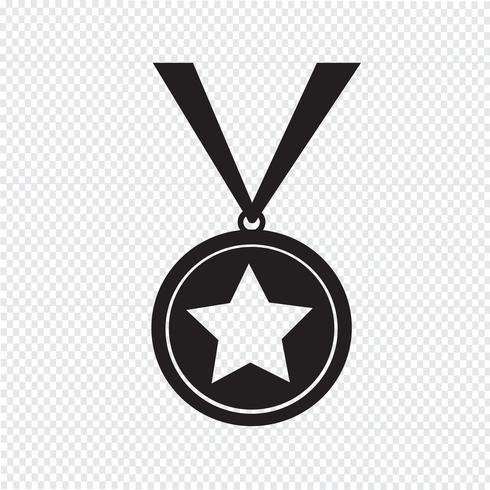 medal icon  symbol sign