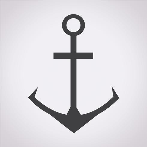 Anker pictogram symbool teken