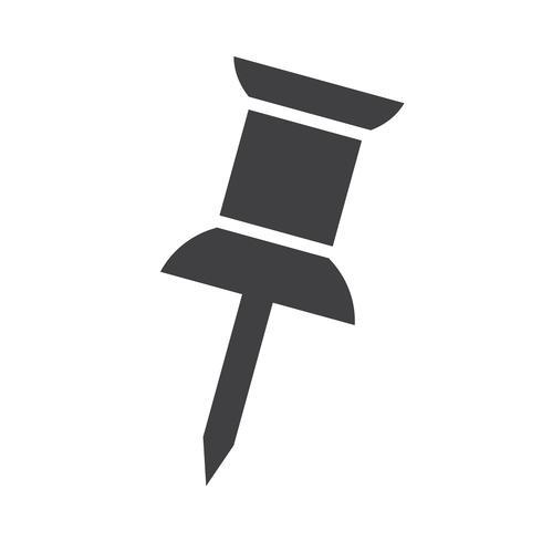 Punaise pictogram symbool teken