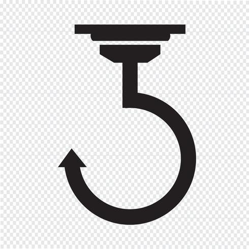 Gancho sinal de símbolo de ícone
