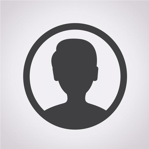 Usuário, ícone, símbolo, sinal