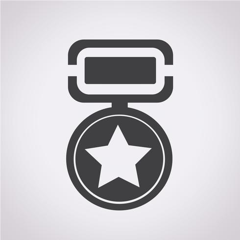 medalla icono símbolo signo