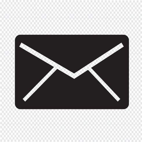 mail pictogram symbool teken