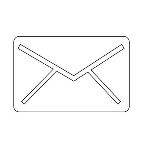mail icon  symbol sign