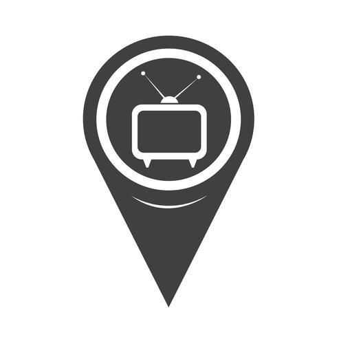 Kartenzeiger TV-Symbol