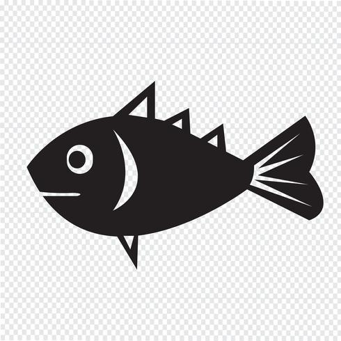 Fish Icon  symbol sign