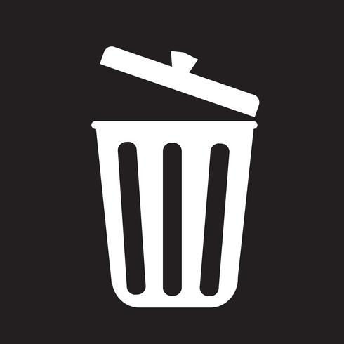 trash icon  symbol sign