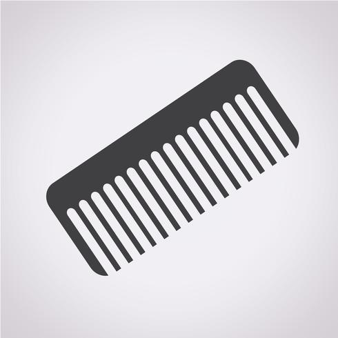 comb icon  symbol sign