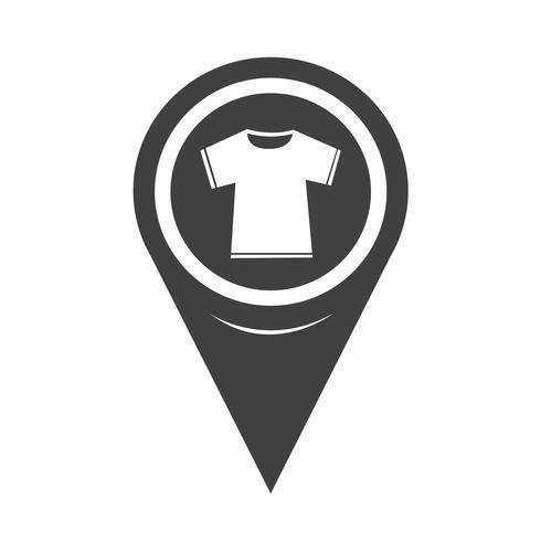 Kartenzeiger Tshirt-Symbol